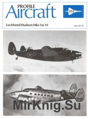 Lockheed Hudson Mks I To Vi серия Aircraft Profile Publication №253