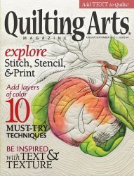 Quilting Arts  - August/September 2013