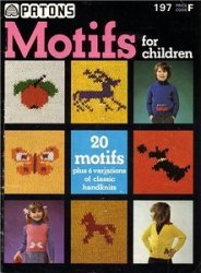 Patons № 197. Motifs for Children