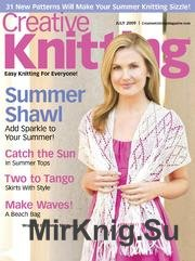 Creative Knitting July 2009