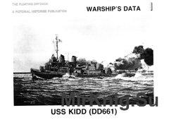 Warship's Data 1 USS Kidd (DD-661)