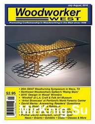 Woodworker West №4 2016