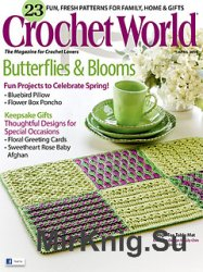 Crochet World April 2014