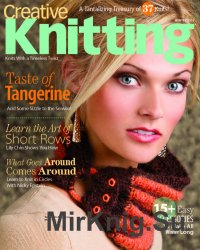 Creative Knitting Winter 2013: Taste of Tangerine