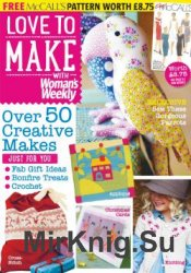 Love to make with Woman's Weekly №11 2015