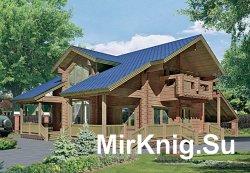 100 проектов деревянных домов