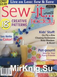 Sew-It Today February/March 2014