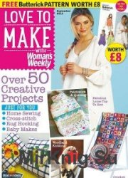 Love to make with Woman's Weekly September 2015
