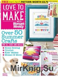 Love to make with Woman's Weekly July 2015