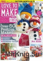 Love to make with Woman's Weekly December 2015