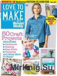 Love to make with Woman's Weekly June 2015