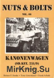 Kanonewagen (Sd.Kfz. 251/9) (Nuts & Bolts Vol.06)