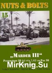 """Marder III"" Panzerjager 38 (t) (Nuts & Bolts Vol.15)"