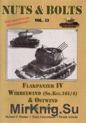 Flakpanzer IV Wirbelwind (Sd.Kfz.161/4) & Ostwind (Nuts & Bolts Vol.13)