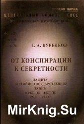 От конспирации к секретности. Защита партийно-государственной тайны в РКП(б ...