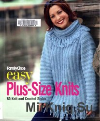 Family Circle Easy Plus-Size Knits