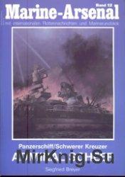 Marine-Arsenal 012 - Panzerschiff - Schwerer Kreuzer Admiral Scheer