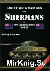 Armor ColorGallery 03 - Camouflage & Markings Of Sherman in New Zeeland Service 1943-45