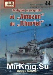 Brytijskie niszczyciele ot Amazon do Ithuriel cz.II - Okrety Wojenne Specja ...