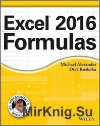 Excel 2016 Formulas (+code)