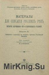 Сведения о мостах на водных путях Российской империи