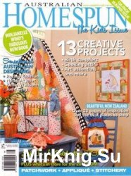 Australian Homespun Issue 89 Vol.11-10 2010