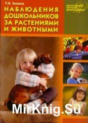 Наблюдения дошкольников за растениями и животными