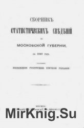 Сборник статистических сведений по Московской губернии на 1869 год
