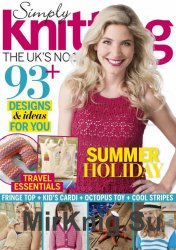 Simply Knitting - August 2016