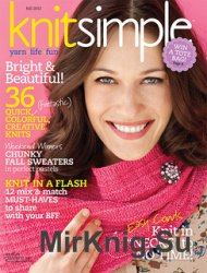 Knit Simple Magazine Fall 2012