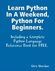 Learn Python In a Weekend