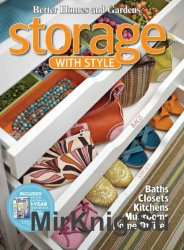Better Homes & Gardens. Storage with Style (2010)