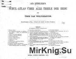 Schul-Atlas über alle Theile der Erde und über das Weltgebäu ...