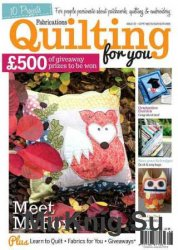 Quilting For You Issue 97