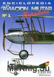 Enciclopedia de la Aviacion Militar Espanola №1