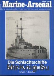Marine-Arsenal 014 - Die Schlachtschiffe der K.u.K. Marine