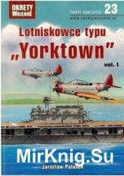 Lotnikowce typu Yorktown vol.1 Okrety Wojenne Specjalne № 23