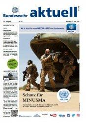 Bundeswehr aktuell №25 от 27.06.2016
