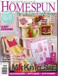 Australian Homespun Issue 81 Volume 11 No 02 2010