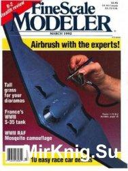 FineScale Modeler 1992-03