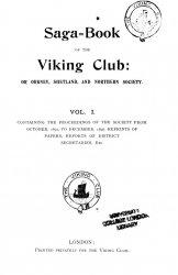 Saga-Book. Vol. 1-38