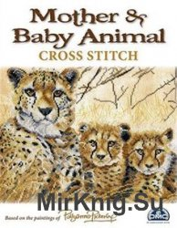 Mother & Baby Animals Cross