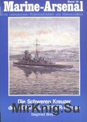 Marine-Arsenal 016 - Die Schweren Kreuzer der ADMIRAL HIPPER-Klasse