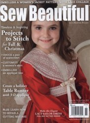 Sew Beautiful - № 150 October/November 2013