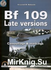 Messerschmitt Bf-109 Late Versions (Mushroom White Series 9110)
