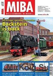 MIBA Die Eisenbahn im Modell 2016-06