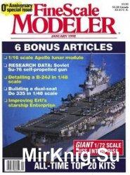 FineScale Modeler 1992-01