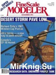 FineScale Modeler 1991-11