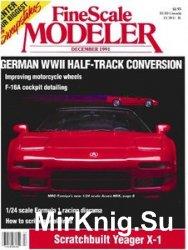 FineScale Modeler 1991-12