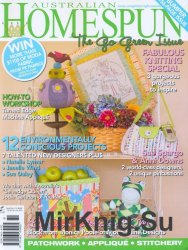 Australian Homespun №84, Vol 11.5